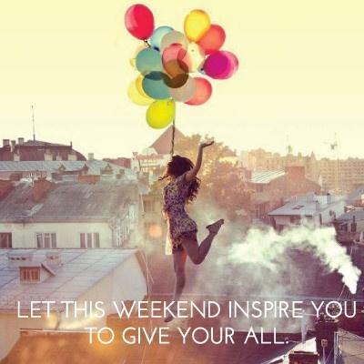 Happy Weekend!!