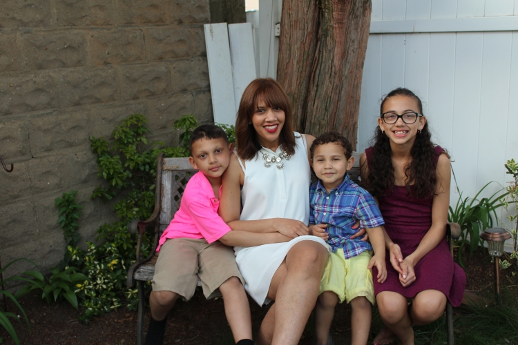 The reason I'm a momma, the reason for everything i do is because of them