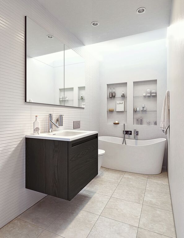small bathroom big impact with wetstyle simple bliss